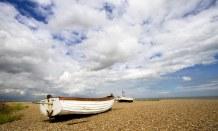 Boast on Beach