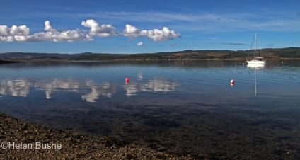 Loch Fyne with Red Buoy