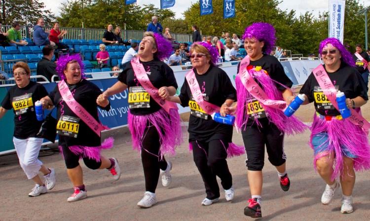 Great Scottish Run ladies