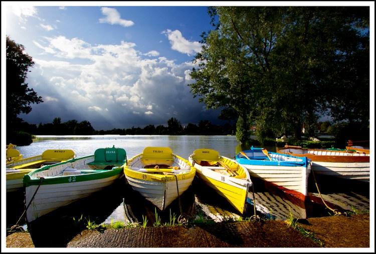 Boats at Thorpeness