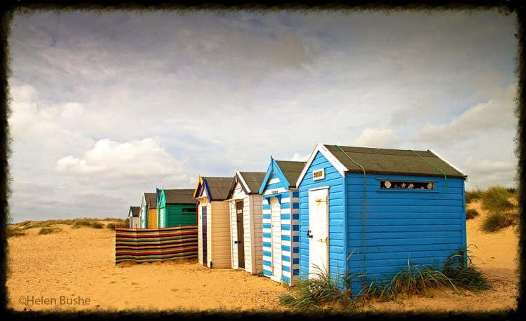 beach huts suffolk coast