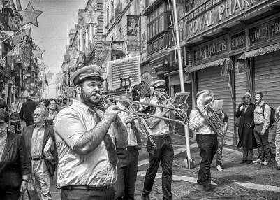 Brass Band St augustines feast Valletta