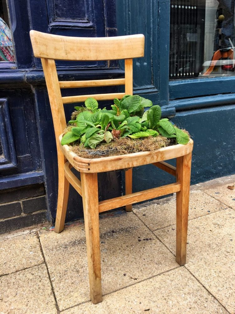 a quirky chair Hebden Bridge