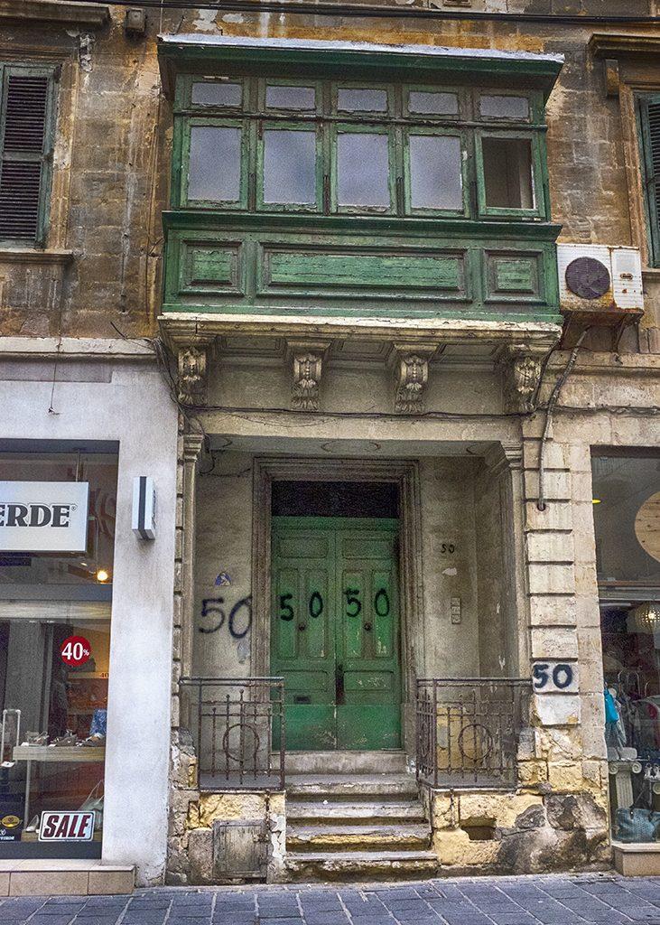 Sliema Malta ruined house