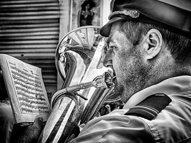 brass band tuba Valletta