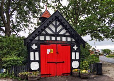 fire station, Singleton, village, Lancashire