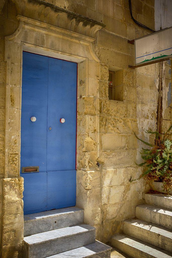 Blue Double Door 1