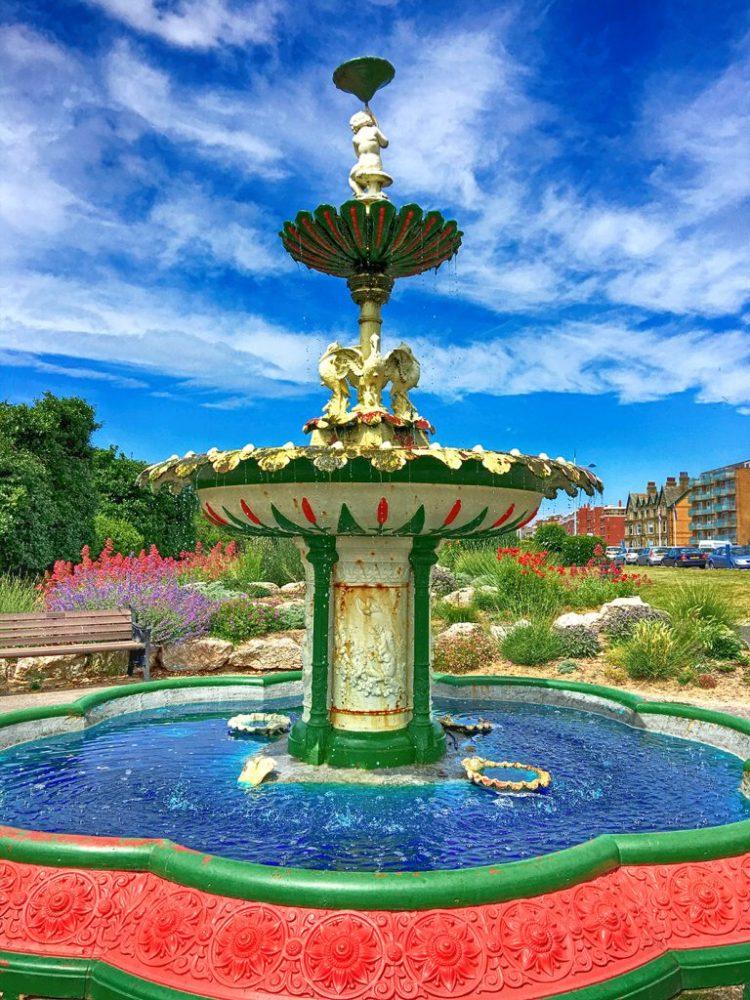 ictorian Fountain In St Annes Fylde coast Lancashire