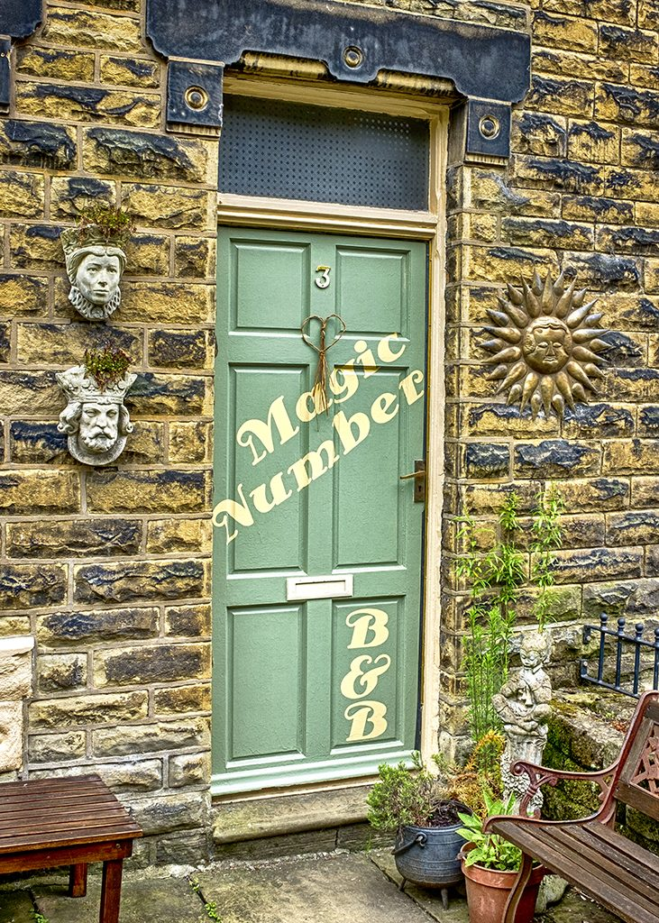 magic door Hebden Bridge yorkshire village