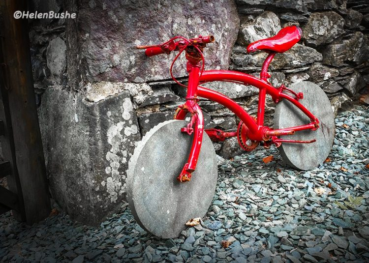 slate Honister Lake District bicycle wheels