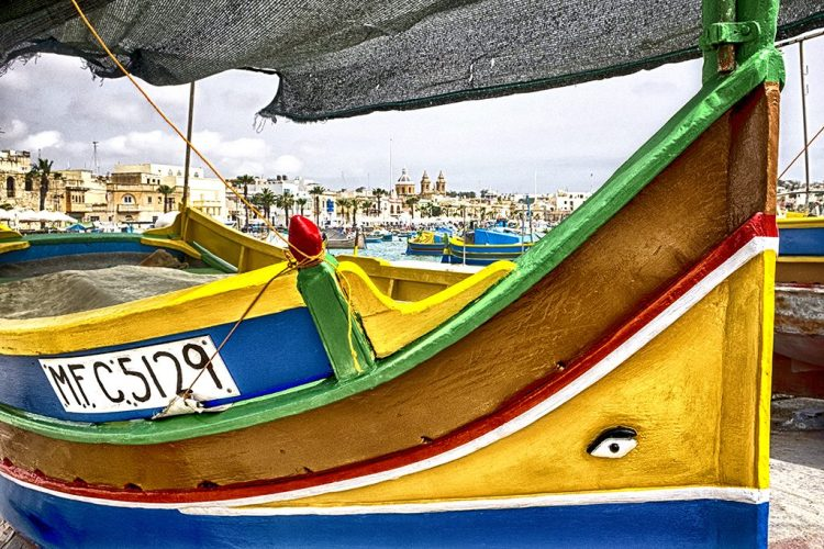 Marsaxlokk under Sail