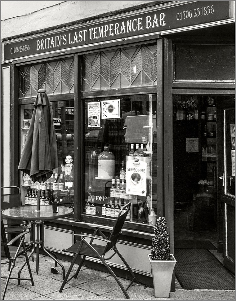 Britain's Last Temperance Bar