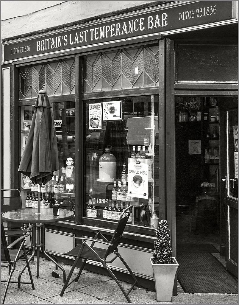 Britain's Last Temperance Bar