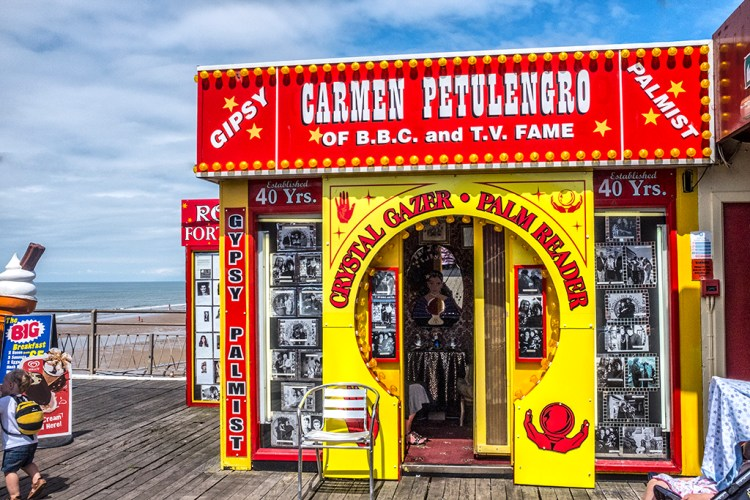 Crystal Gazer Blackpool North Pier Fortune Teller