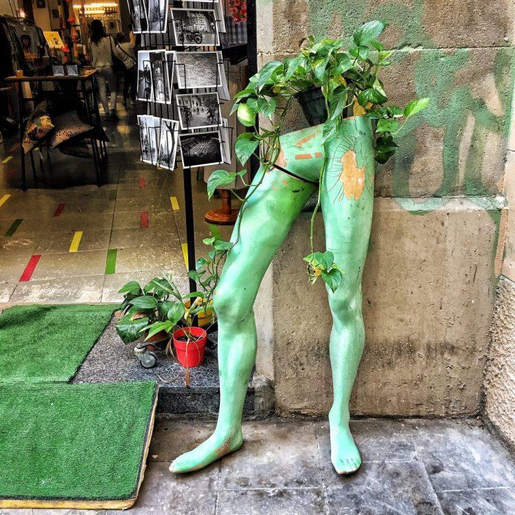 Going Green Gothic Quarter Barcelona