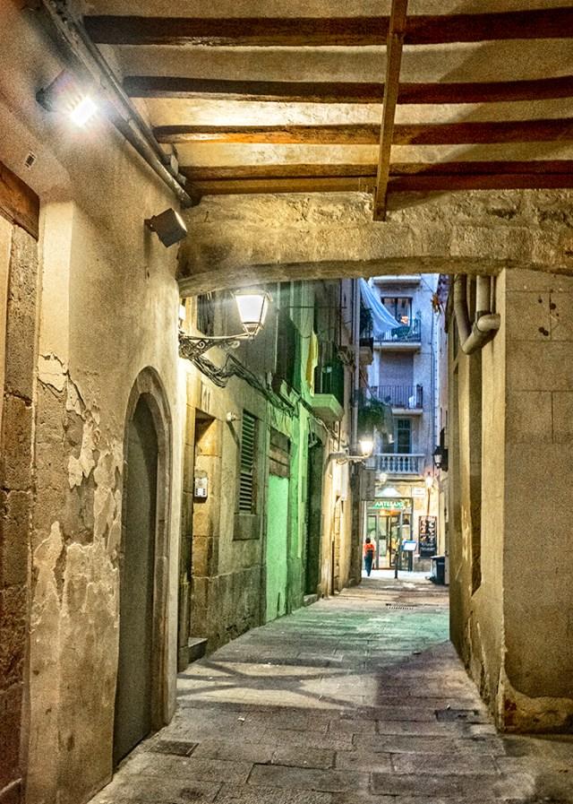 Street in Gothic Quarter