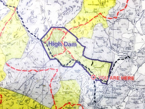 High Dam Walk Map