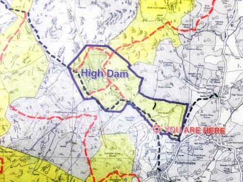 High Dam Walk Map