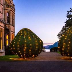 Dusk at Armathwaite Hall Lake District Bassenthwaite