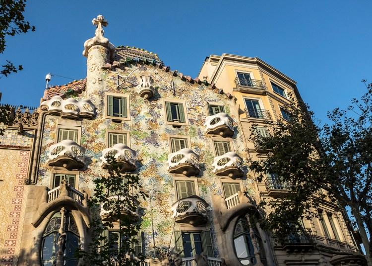 Casa Batllo Gaudi barcelona