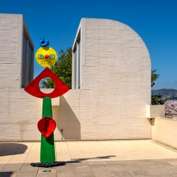 OddBall on the Roof Miro Barcelona