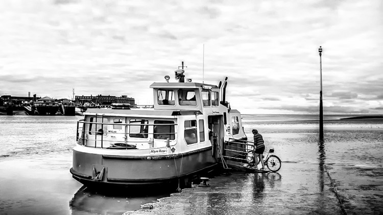 Knott End Ferry Fleetwood Wyre Lancashire transport public