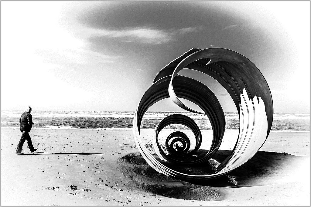 A Shell on the Beach Cleveleys Fylde coast Mary's Shell