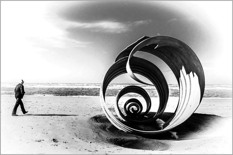 A Shell on the Beach Cleveleys Fylde coast Mary's Shell