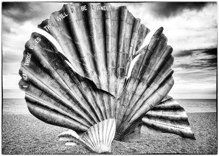 The Scallop on Aldeburgh Beach Maggi Hambling Benjamin Britten