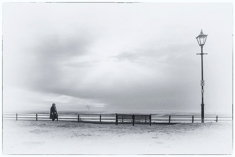 Walking Along the Prom Lytham Lancashire Fylde coast