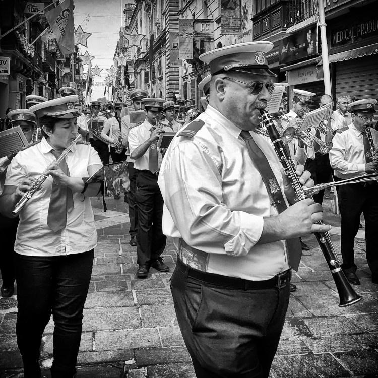Maltese Band Vallatta Malta St Augustine feast