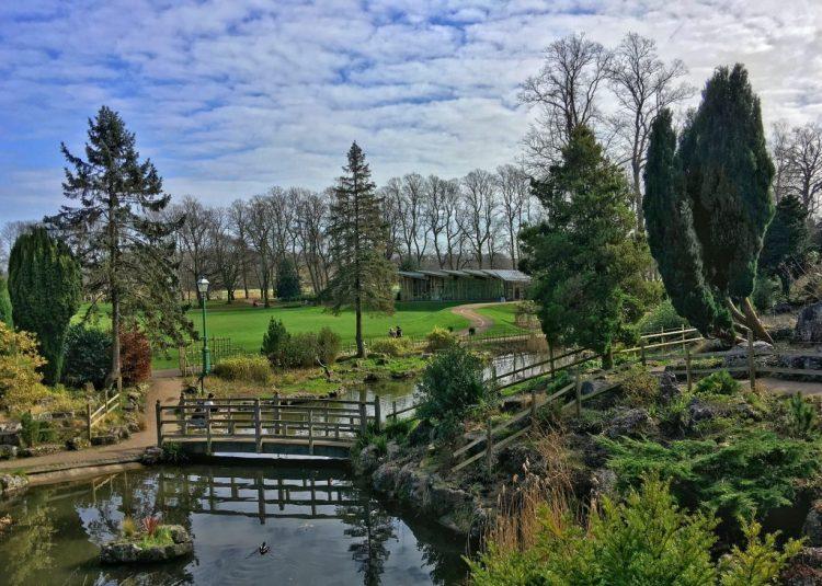 Japanese Gardens Preston Avenham Miller park springtime spring