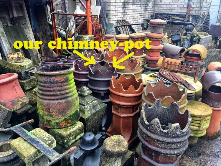 Chimney-Pot salvage yard Victorian