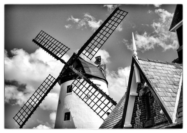 X-shaped Sails Lytham Windmill