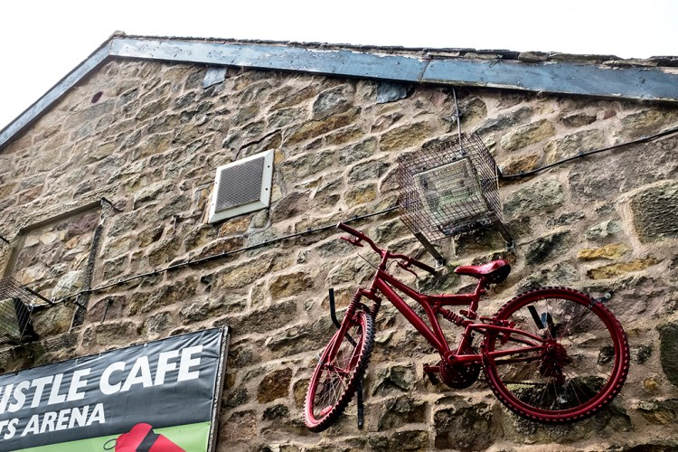 Last Whistle Cafe UCLAN Lancaster Canal towpath walk Preston