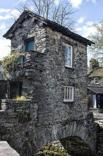 The Bridge House 17th century Ambleside lake District National Trust