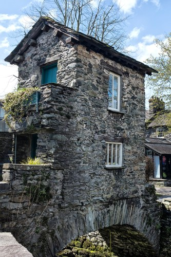 The Bridge House 17th century Ambleside lake District National Trust