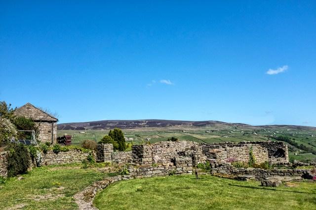 A Crackpot Ruin village hamlet Yorkshire Dales