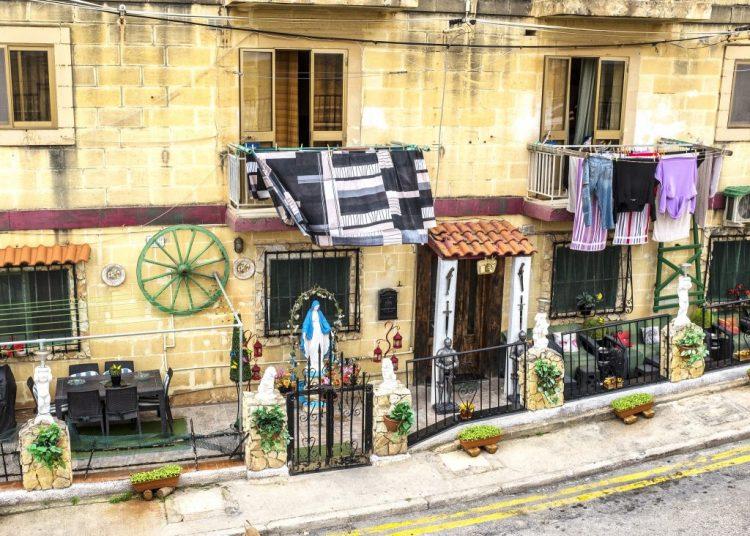 Front Garden in Valletta Malta Oddball