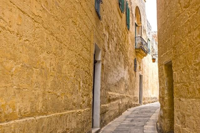 Mdina: Balcony and Light malta Silent City