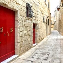 Mdina: Door of Palazzo in Silent City Malta for Thursday Doors Challenge