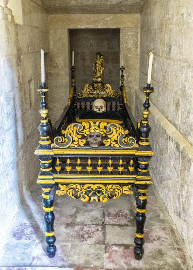 Carmelite Priory: The Bier Mdina Malta oddsball