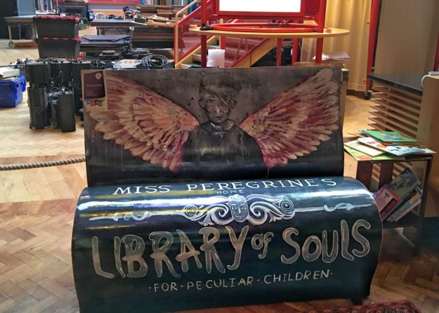 ROYAL EXCHANGE THEATREMiss Peregrine's Library Seat