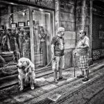 BARCELONA LIFE Gothic Quarter Monochrome Street Photography StreetLife