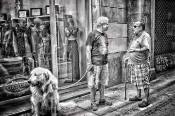 BARCELONA LIFE Gothic Quarter Monochrome Street Photography StreetLife