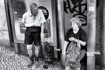 streetlife candid city life street photography monochrome LISBON LIFE