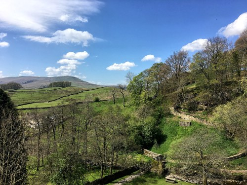 View of Dales Yorkshire smile on Saturday