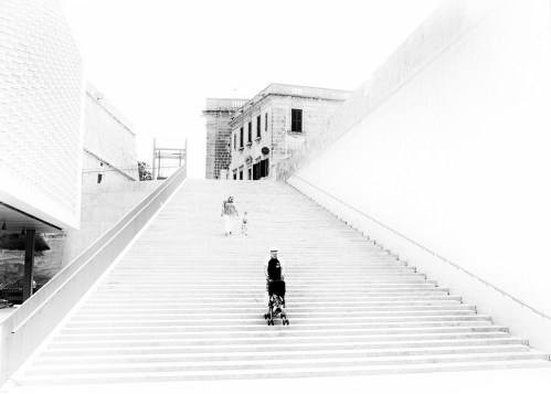 StreetLife: Pedestrians 4 monochrome
