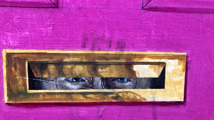 Knaresborough: An Illusory Letter-box
