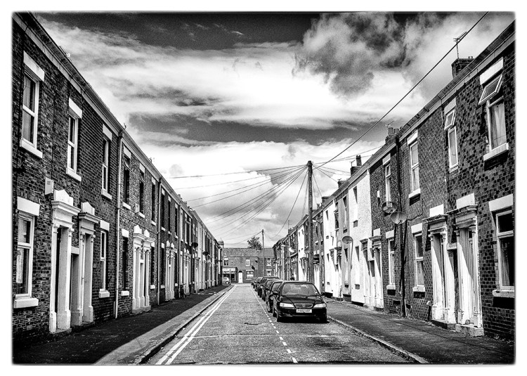 HOUSES: Preston, monochrome